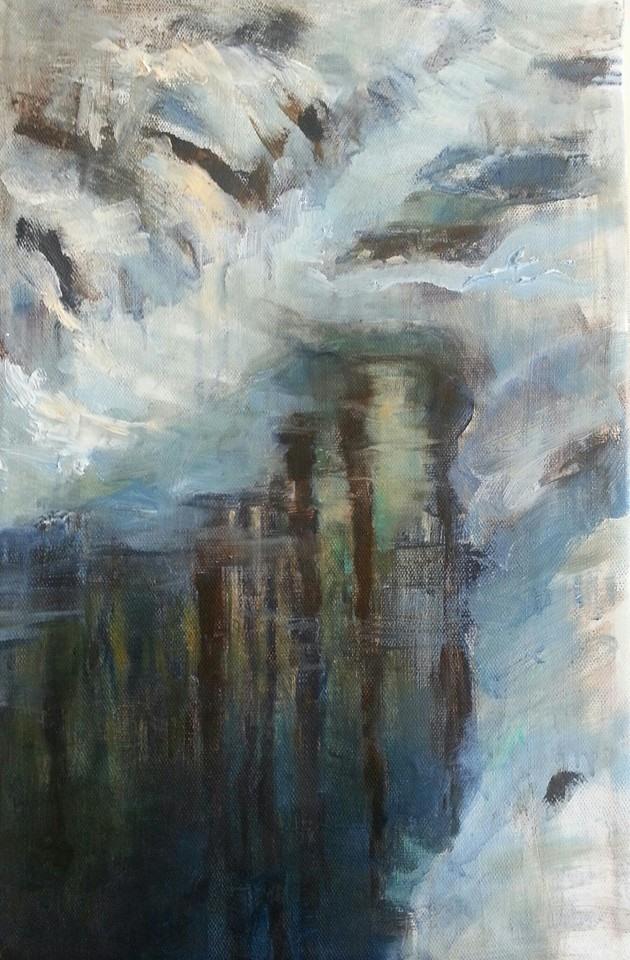 Winter Morning Reflections, Heidi Hjort