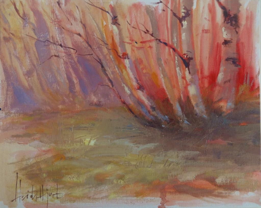 """Birch Family"" by Heidi Hjort"