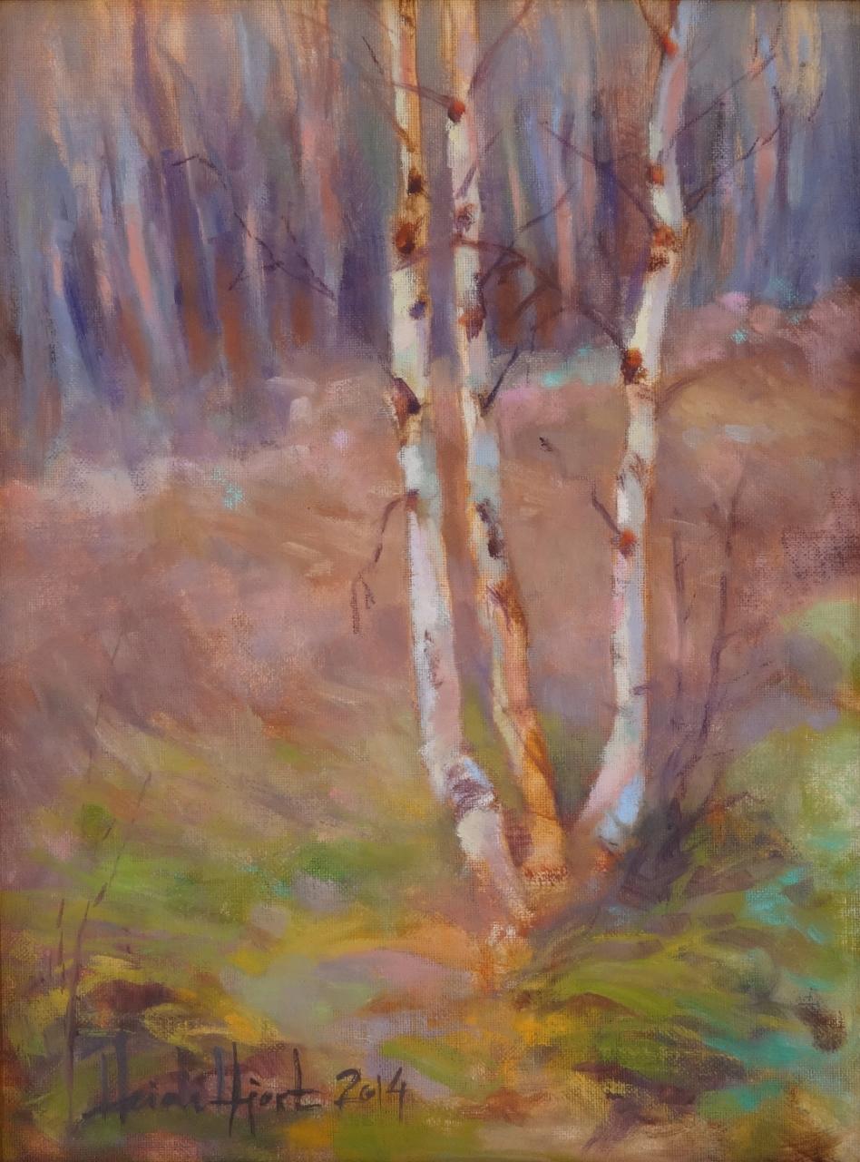 Birches in World Heritage, Heidi Hjort