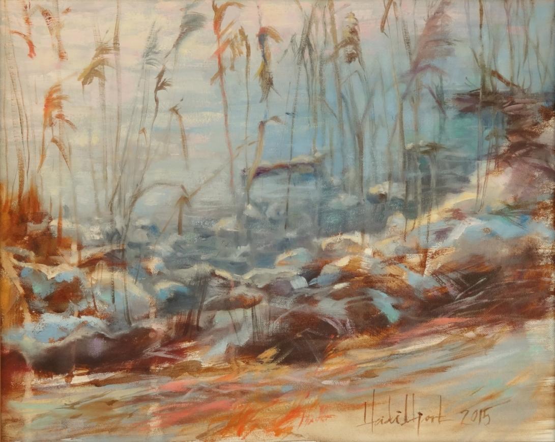 Frosty Morning by Heidi Hjort