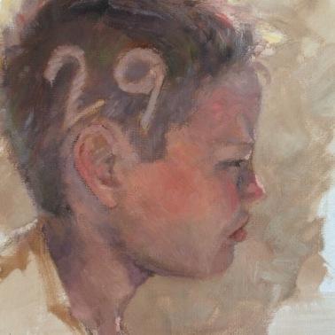 """""""Waiting"""" by Heidi Hjort"""